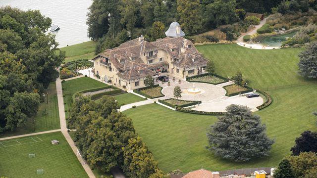"""""""La Réserve"""", maison de Michael Schumacher à Gland, Suisse. [Laurent Gillieron - Keystone]"""