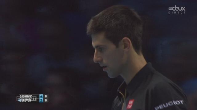 Djokovic - Berdych (6-2): Nole emporte rapidement le 1e set [RTS]