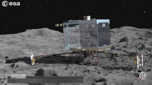 L'Agence Spatiale Européenne a annoncé que faute d'énergie, le robot pourrait entrer en hibernation [RTS]