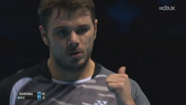 Tennis - Masters Londres: Résumé des matchs de la journée [RTS]