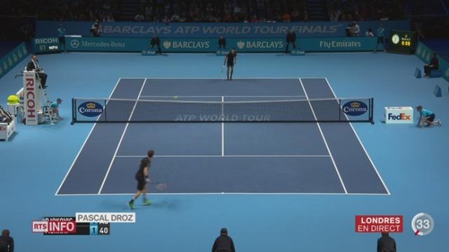 Tennis - Forfait de Federer: les explications de Pascal Droz depuis Londres [RTS]
