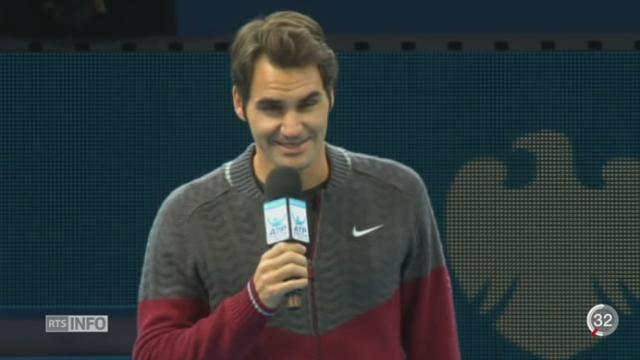 Tennis - Masters de Londres: Federer déclare forfait [RTS]