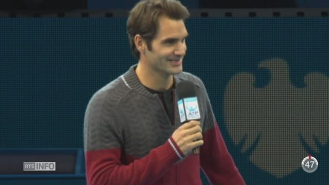 Tennis- Coupe Davis: le dos de Roger Federer suscite de nombreuses interrogations avant la finale [RTS]