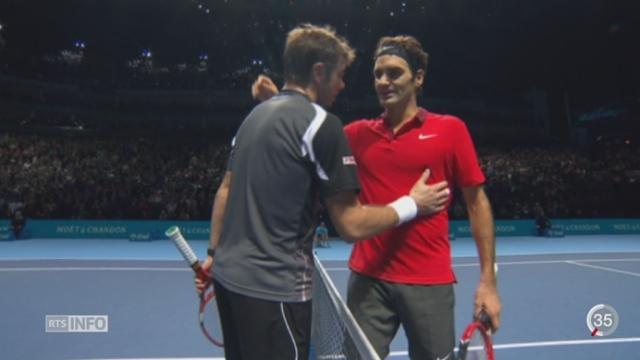 Tennis: La demi-finale du Masters à Londres a donné lieu à un coup de colère momentané de Stan Wawrinka [RTS]