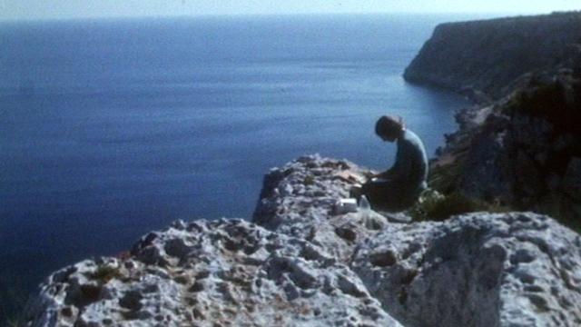 Lettre de Formentera en 1972. [RTS ]