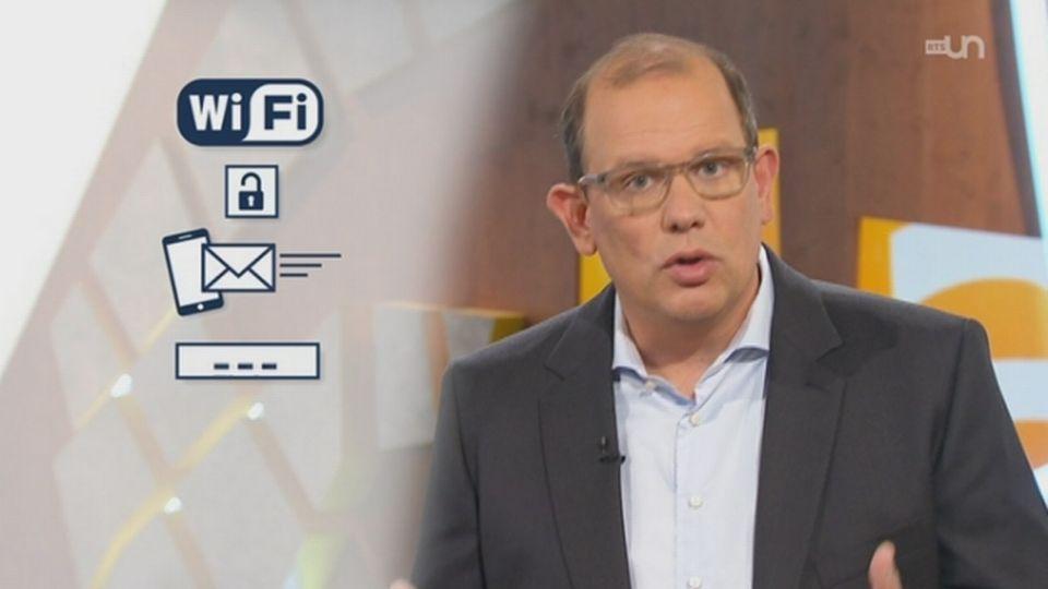 Wifi gratuits: Attention! Le point avec Luc Mariot, journaliste et producteur d'ABE [RTS]