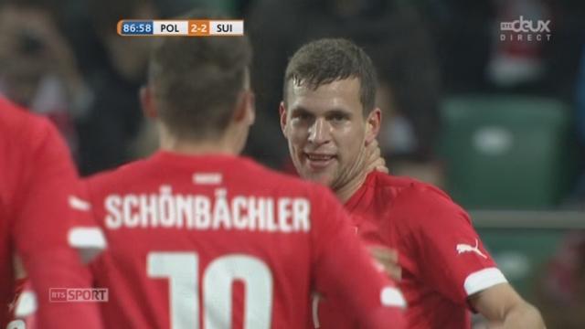 Pologne - Suisse (2-2): 1er but en sélection pour Frei qui égalise du plat du pied [RTS]