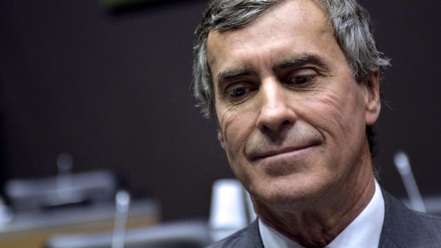 Jérôme Cahuzac est soupçonné de blanchiment de fraude fiscale. [Miguel Medina - AFP]