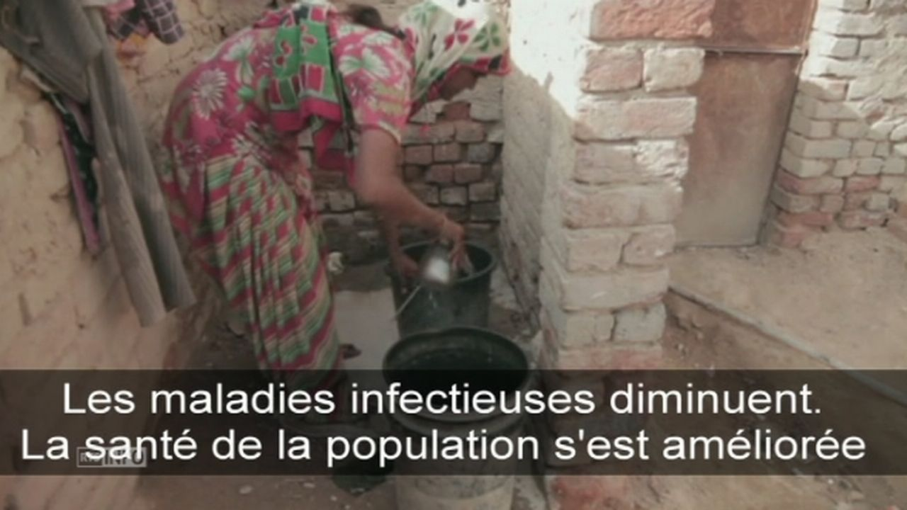 Le manque de toilettes dans le monde dénoncé par l'OMS [RTS]