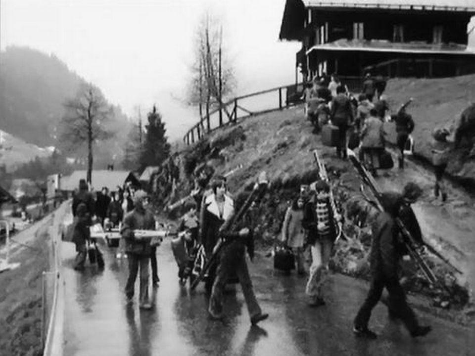 Le camps de ski, une occasion de profiter des sports d'hiver. [RTS]