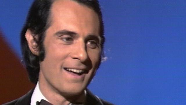 Guy Marchand chante à Thônex en 1972. [RTS]