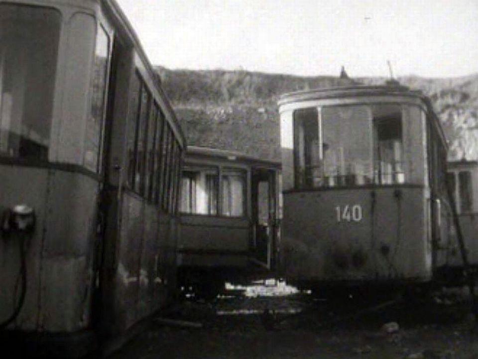 Lausanne se sépare de ses trams qui seront envoyés à la casse.