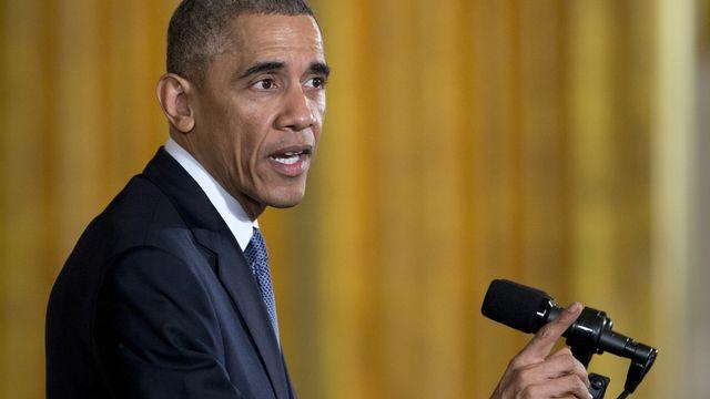 Barack Obama le 19 novembre 2014. [Carolyn Kaster - AP/Keystone]