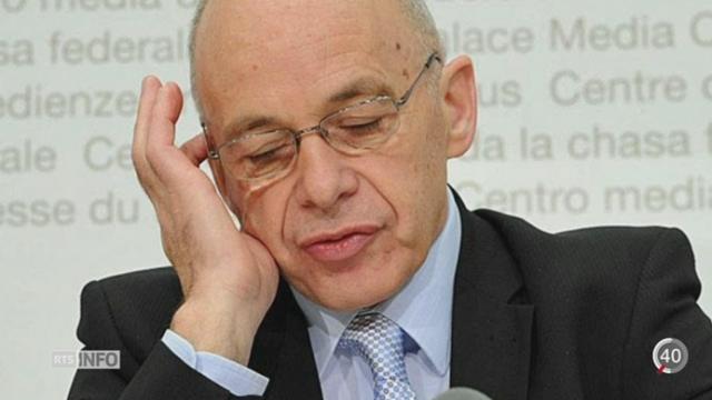 Ueli Maurer voudrait la résiliation de la Convention des droits de l'Homme [RTS]