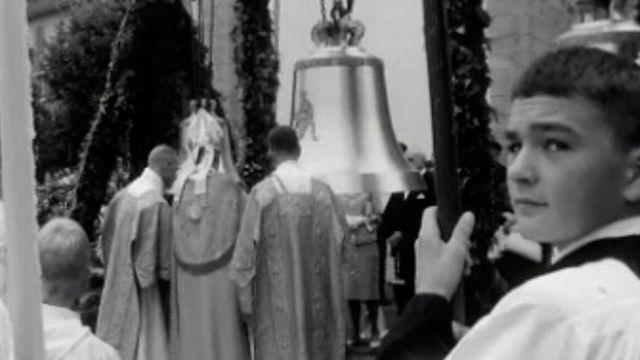 C'est un grand jour pour la paroisse de Peseux. [RTS]