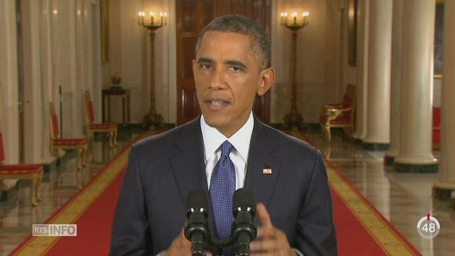 Obama régularise 5 millions de clandestins en déclarant que les USA sont une nation d'immigrants [RTS]