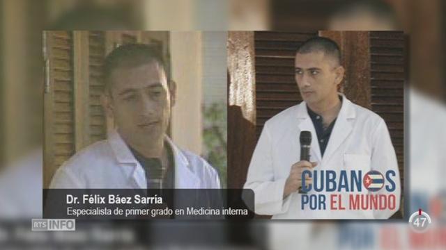 GE: les HUG ont reçu le premier patient atteint d'Ebola accueilli en Suisse [RTS]