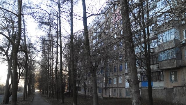Le logement de la mère de Lena, proche de la ligne de front. [Maurine Mercier - RTS]