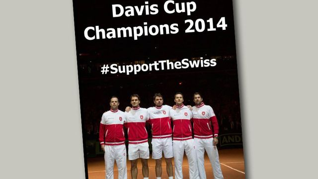 Photo issue de la page Facebook de Swisstennis. [Page Facebook de Swisstennis]