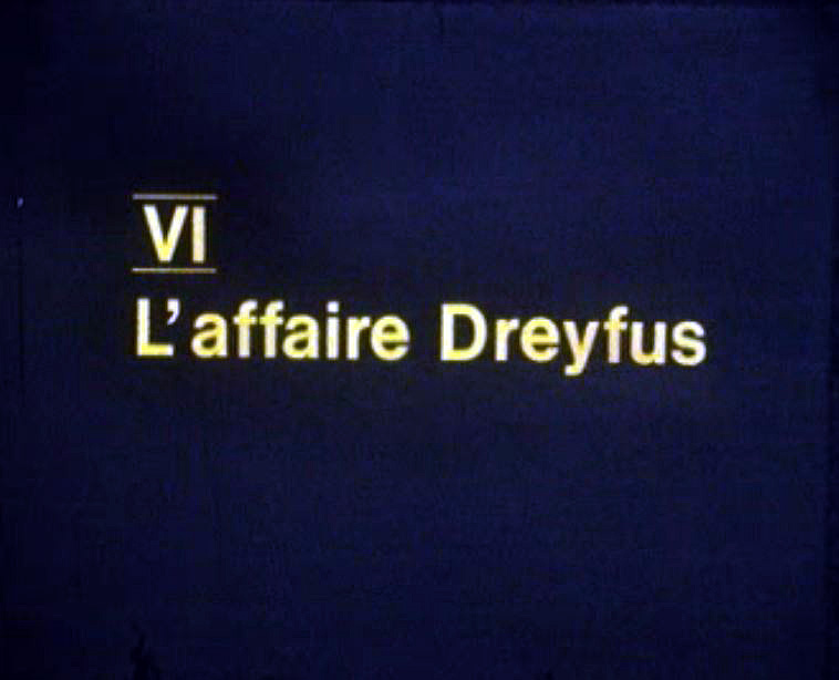 L'affaire Dreyfus enflamme la France de 1894.