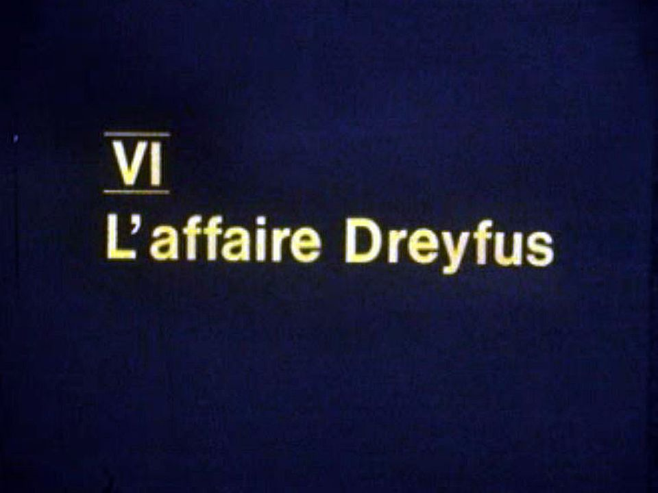 L'affaire Dreyfus enflamme la France de 1894. [RTS]