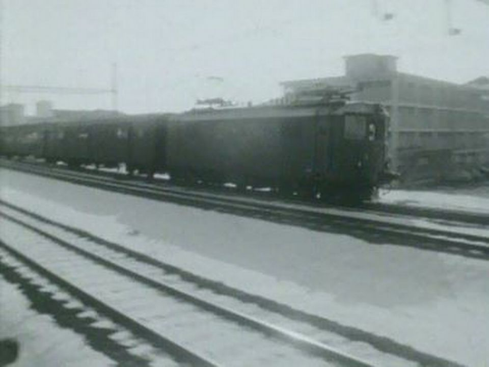 Le train, l'avenir pour le transport des marchandises. [RTS]