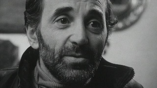 Charles Aznavour à Crans. [RTS]