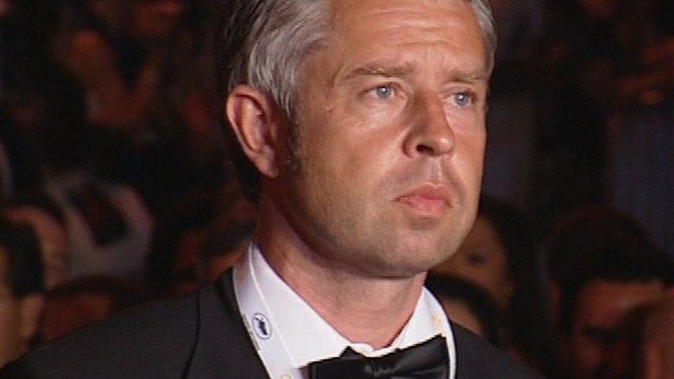 Nicolas Bideau, Monsieur cinéma suisse à Cannes en 2006. [RTS]