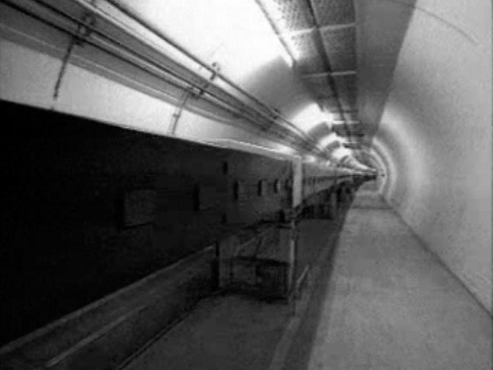 Un tunnel de 27 kilomètres pour la collision des particules. [RTS]