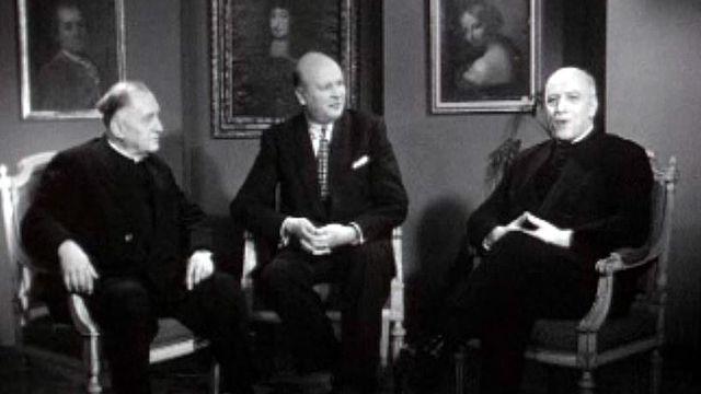 Les voeux des représentants des Eglises, à la veille de 1960.