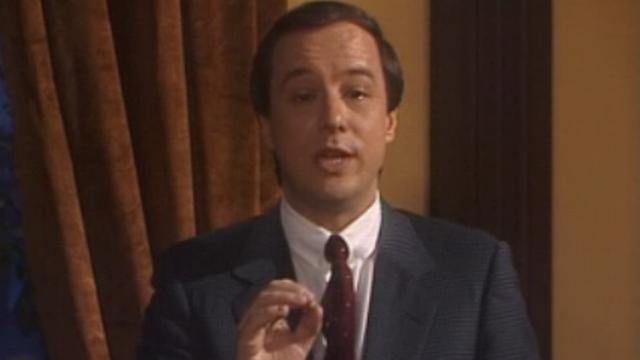 Charles Poncet retrace l'affaire Belshaw en 1989. [RTS]