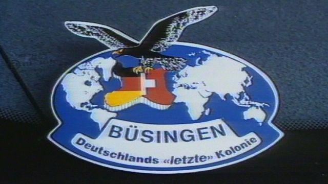 Büsingen, une enclave allemande en Suisse. [RTS]