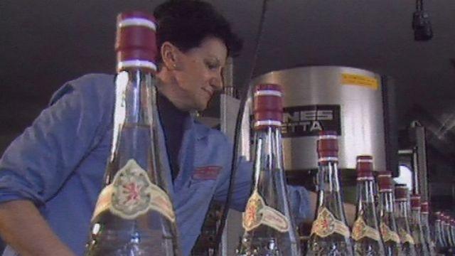 La distillerie Morand en 1989 [RTS]