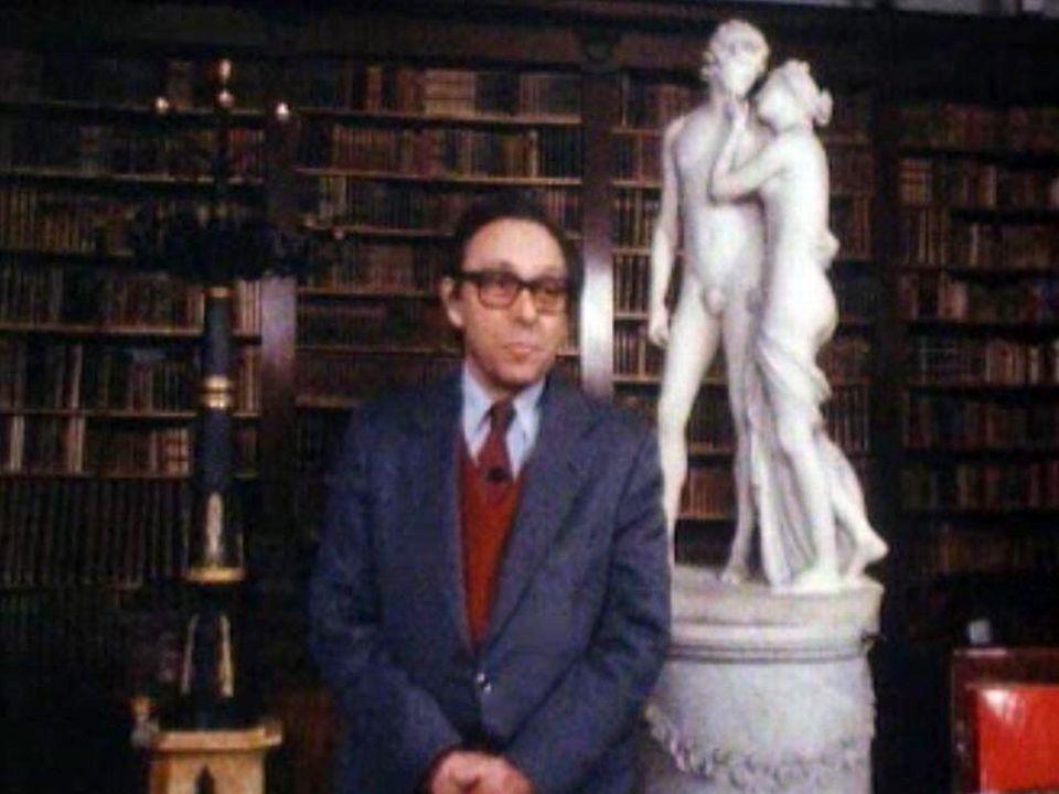 Le lien entre l'individu et son corps vue par Jean Starobinski. [RTS]