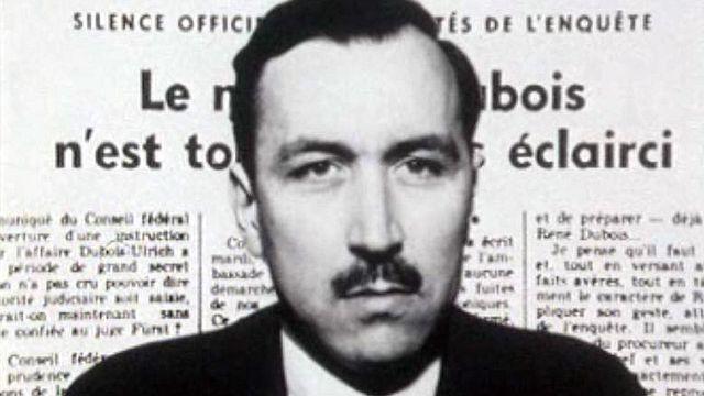 En 1957 , le procureur général Dubois se suicide. [RTS]