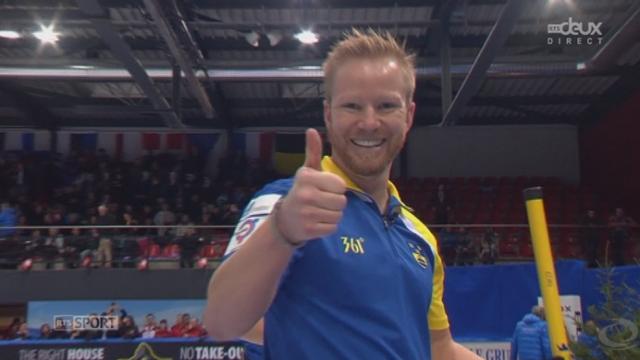 Finale messieurs, Suède - Norvège (5-4): la Suède décroche l'or! [RTS]