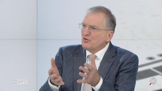 Initiative Ecopop: les explications de Philippe Roch, ancien directeur de l'Office fédéral de l'environnement [RTS]