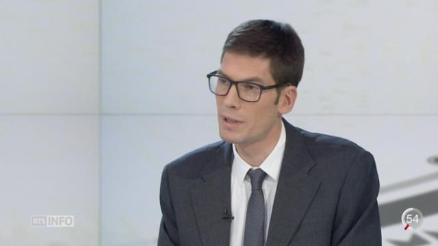 Non à l'initiative contre les forfaits fiscaux: les précisions de Ron Hochuli, chef rubrique économie [RTS]