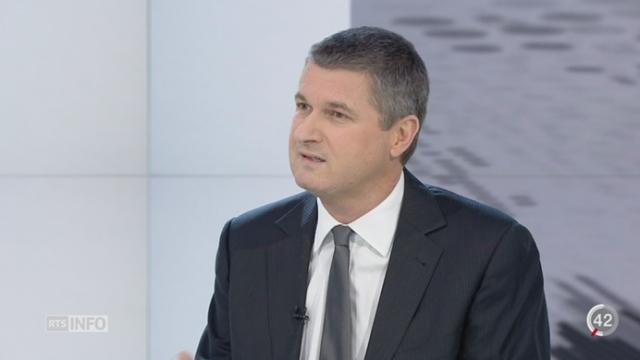 Rejet de l'initiative Ecopop: les précisions de Bernard Rappaz, rédacteur en chef actualité TV [RTS]