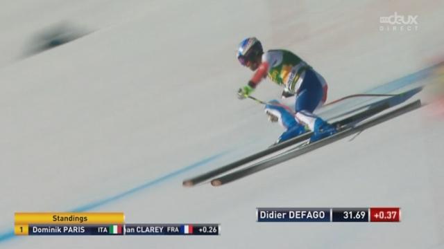 Super G messieurs: Didier Défago [RTS]