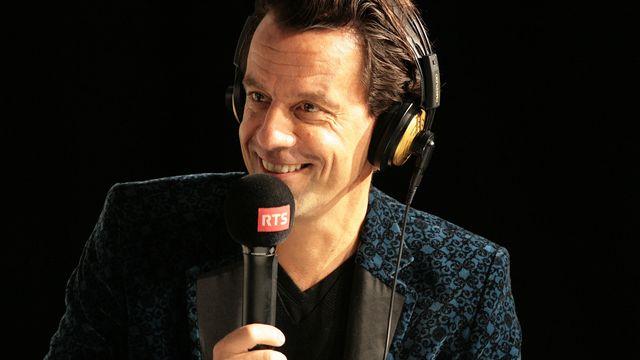 """Grégoire Furrer, président-directeur du Montreux Comedy Festival, à """"L'Agence"""" le 30 novembre 2014. [Mauricio Leal - RTS]"""