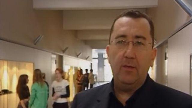 Chanoine Guy Luisier, directeur du Collège de Saint-Maurice, en 2006 [RTS]
