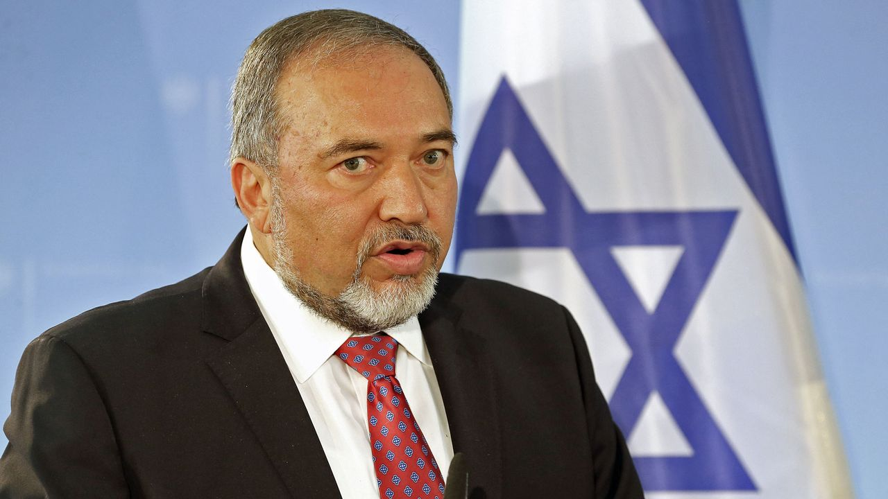 Le ministre israélien des affaires étrangères Avigdor Lieberman. [Wolfgang Kumm - AFP]