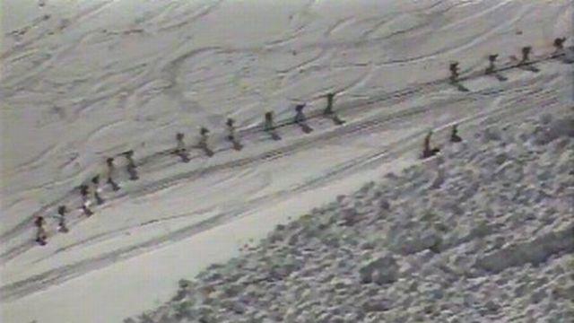 Edition spéciale pour suivre le départ de la course à Zermatt. [RTS]