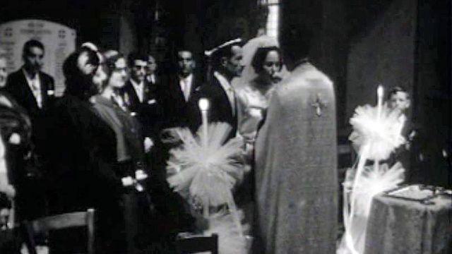 Jules Dassin épouse Melina Mercouri à Lausanne.