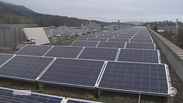 Economie d'énergie: Zurich veut commencer une transition [RTS]
