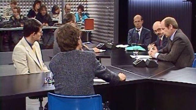 La crise de 1987? Ce sont les banquiers qui l'expliquent le mieux. [RTS]