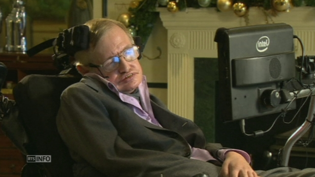 Stephen Hawking met en garde contre l'intelligence artificielle [RTS]