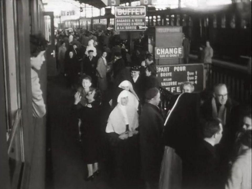 En 1958, les Suisses se rendent nombreux en pélerinage.