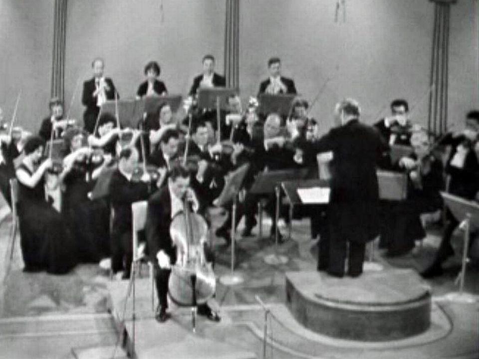 Concerto pour violencelle avec l'OCL dirigé par Victor Desarzens.